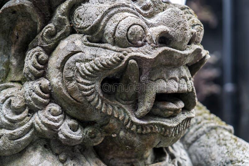 Indonésia - arquitetura hindu velha na ilha de Bali foto de stock