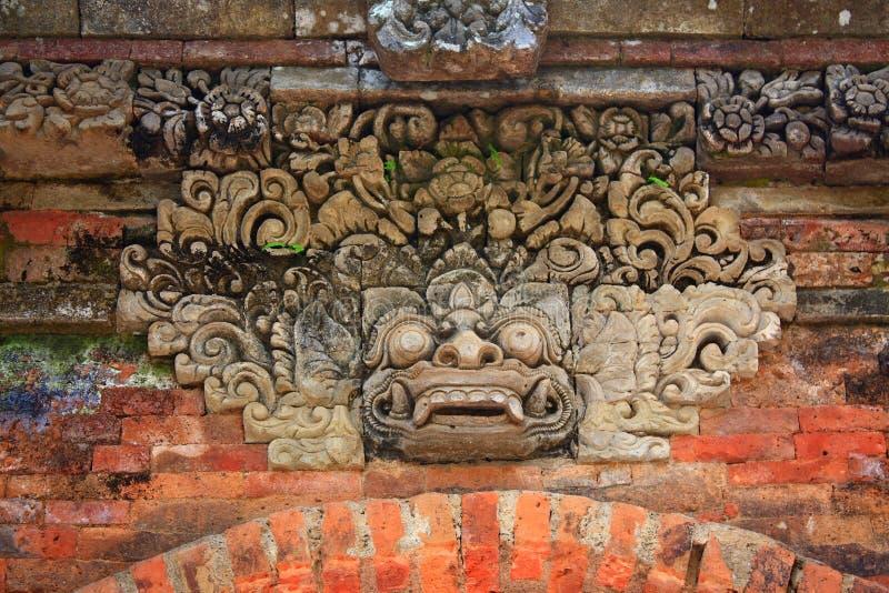 Indonésia, Bali: Escultura de Kala fotografia de stock royalty free