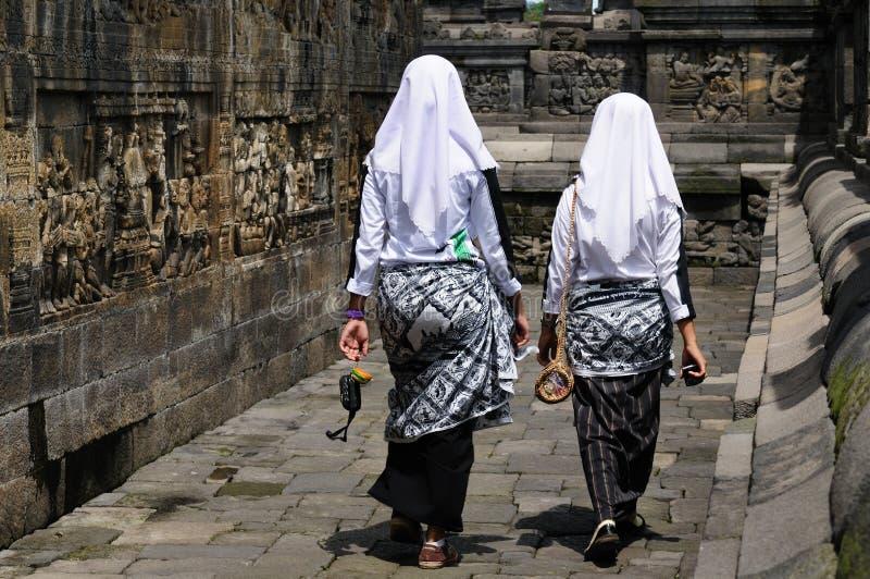 Indonésia, Java. Borobodur foto de stock
