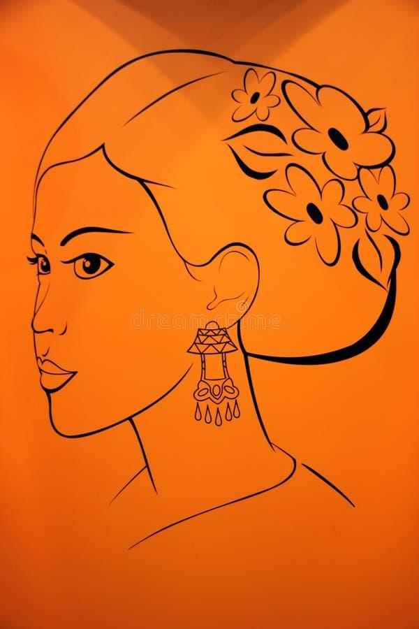 indones royaltyfria foton