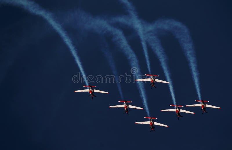 Indonesië Aerobatic Team Jupiter royalty-vrije stock fotografie