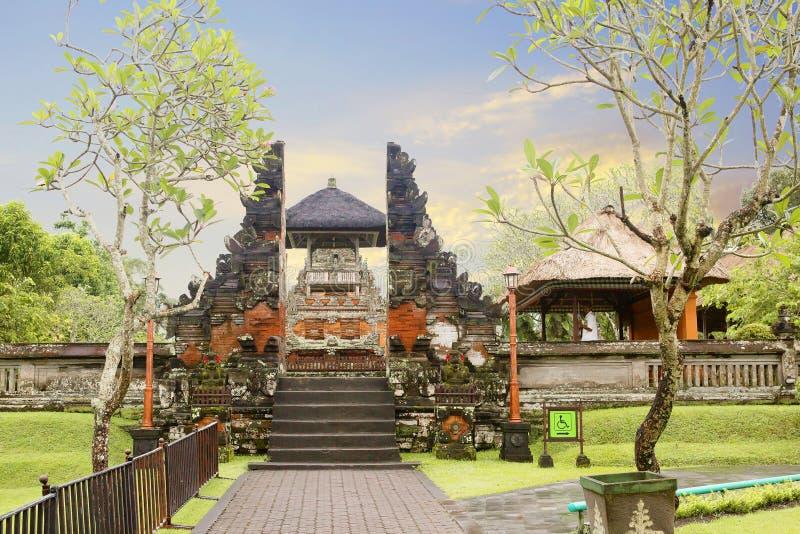 indonesië Bali, Indonesië, Tempel van Pura Taman Ayun stock fotografie