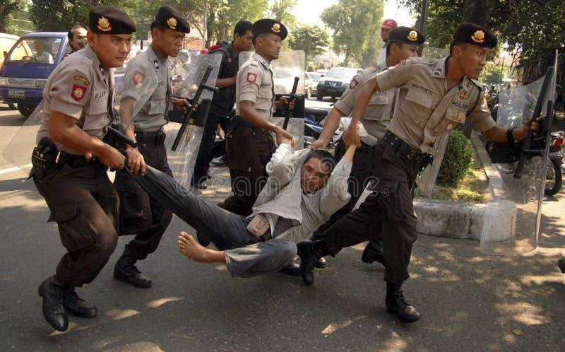 INDONESIË DERDE - GROOTSTE DEMOCRATIEnatie stock foto