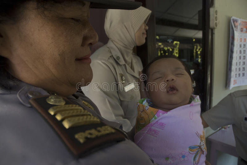 INDONESIA CHILDREN RIGHTS ABUSE CASES stock photo