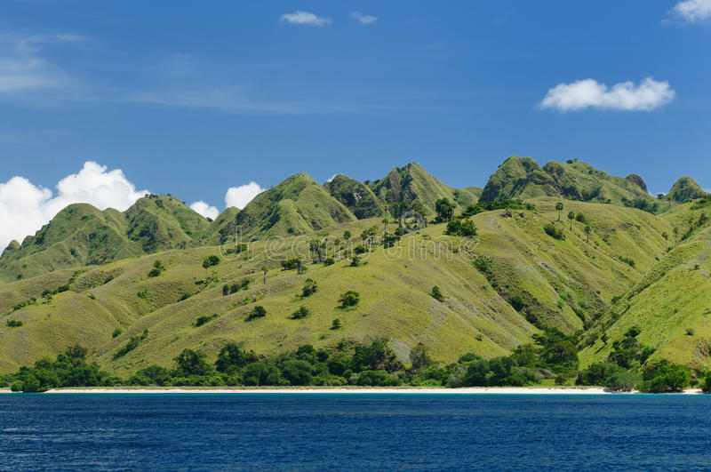 Indonesia, Flores, Komodo National Park royalty free stock photography