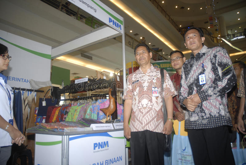 INDONESIA INVESTMENT POLICY REFORM. A small scale business expo in Solo, Java, Indonesia. Indonesia's Finance Minister Bambang Brodjonegoro is banking on stock images