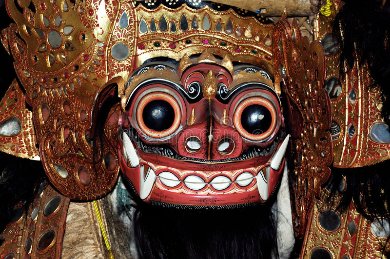Indonesia, Java, Bali: mask royalty free stock image