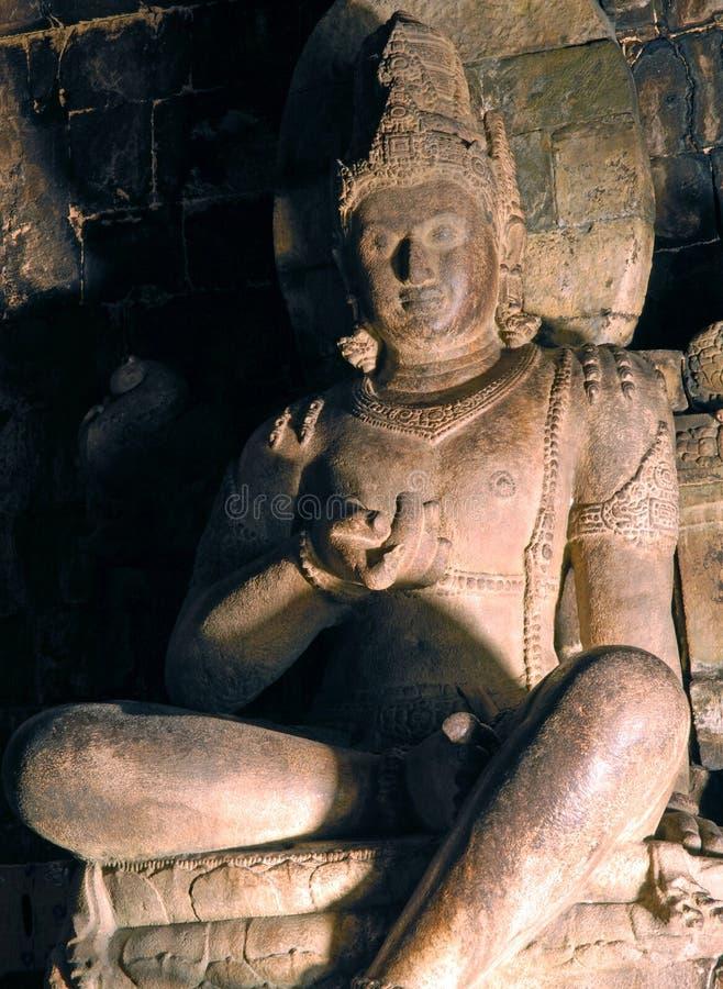 Indonesia, Java, Borobudur: Mendut de Candi fotos de archivo