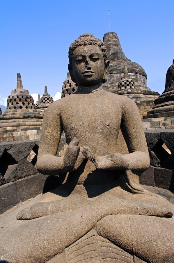 Indonesia, Java, Borobudur: Temple Royalty Free Stock Photography