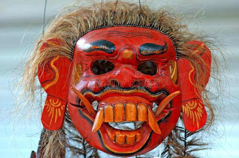 Indonesia, Java: mask royalty free stock photography