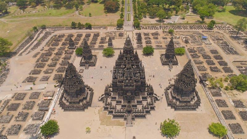 indonesia java prambanan tempel fotografering för bildbyråer