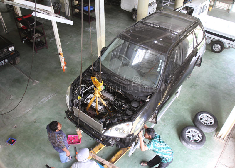 Indonesia local car royalty free stock photos