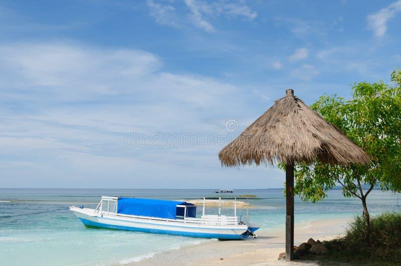 Indonesia, Lombok. Islas de Gili imágenes de archivo libres de regalías
