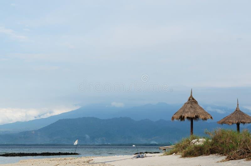 Indonesia, Lombok. Islas de Gili foto de archivo