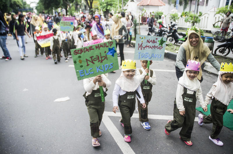 INDONESIA MODERATE TOLERANT ISLAM royalty free stock image