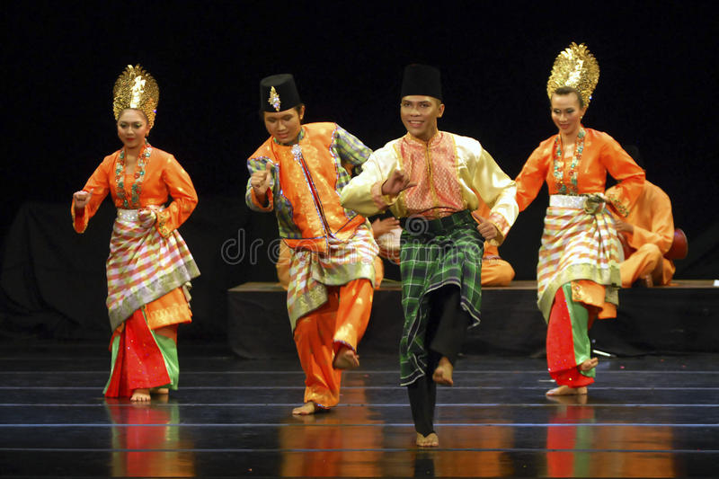 INDONESIA MORE VISA FREE AGREEMENT. Malay dance of Zapin is performed in Solo, Java, Indonesia. The culture rich nation has set visa free agreements with 15 royalty free stock photography