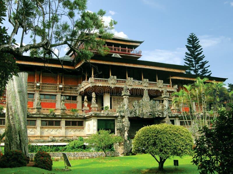 The Indonesia Museum (TMII) stock photo