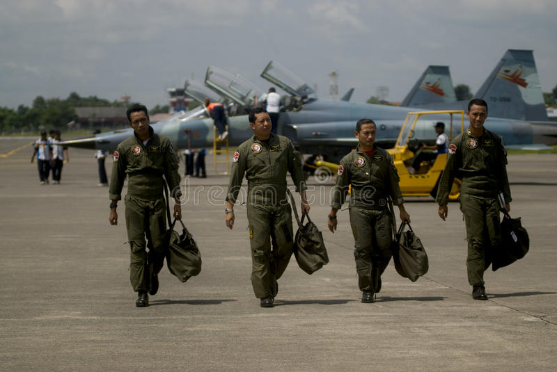 INDONESIA NEW AIR FORCE JET FIGHTER PROPOSALS royalty free stock photography