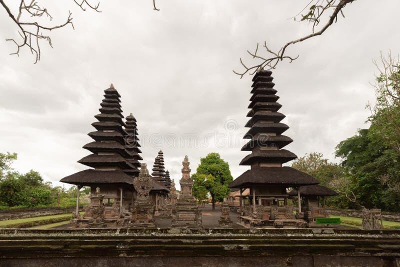 Indonesia Pura Taman Ayun è un complesso balinese di tempio e giardino con tratti idrici situati nel sottodistretto di Mengwi a B fotografia stock