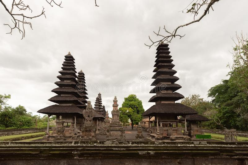 Indonesia Pura Taman Ayun is a compound of Balinese temple and garden with water features located in Mengwi subdistrict in Badung. Regency, Bali, Indonesia stock photography