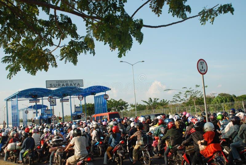 INDONESIA-RELIGION-ISLAM-RAMADAN imagen de archivo libre de regalías
