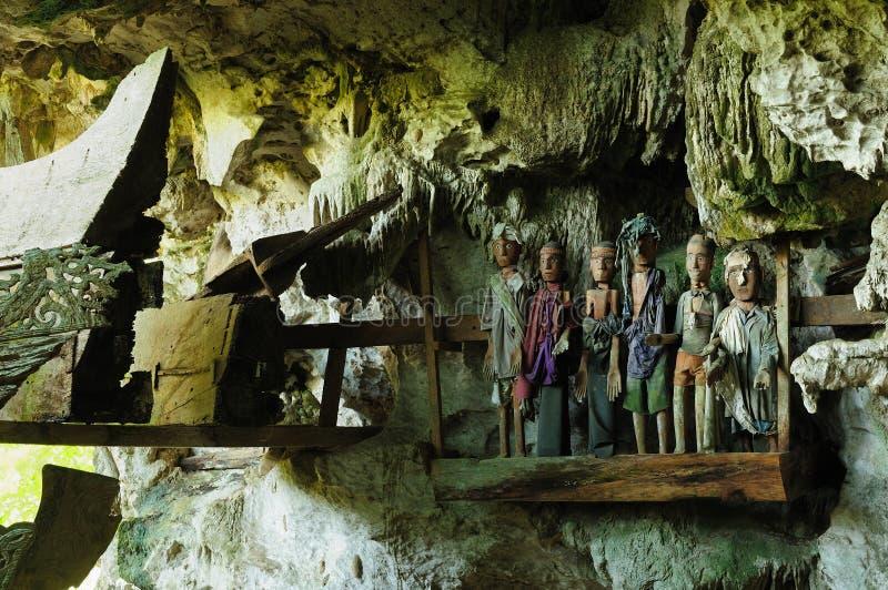 Indonesia, Sumatra del norte, tumba antigua imagen de archivo libre de regalías