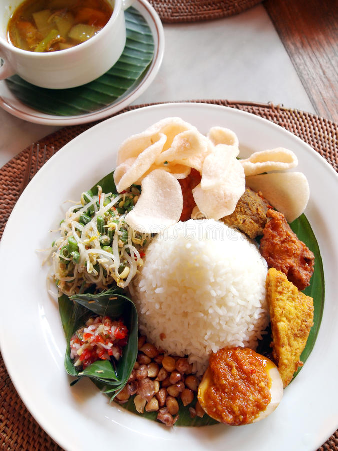Free Indonesian & Bali Ethnic Cuisine Royalty Free Stock Photos - 12597228