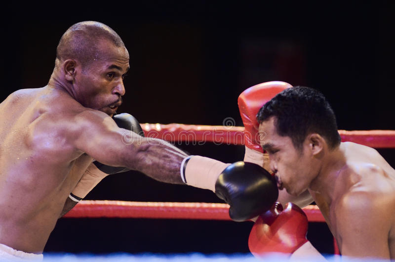 INDONESIAN BOXING WORLD. Indonesian boxing fight. Despite its huge 240 millions, most Indonesian boxers rarely made their step into the world stage because of stock photography