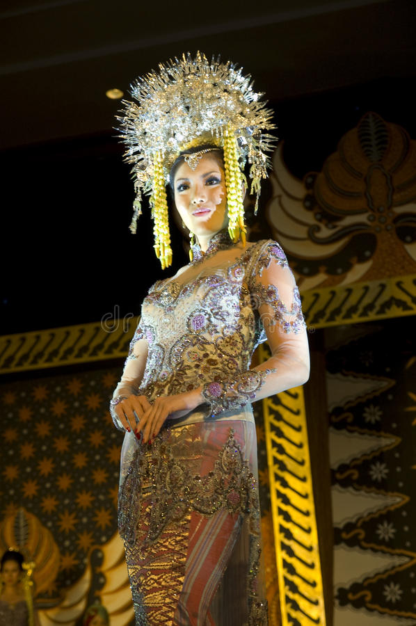 Indonesian Culture Fashion Show Editorial Photography  Image: 14867757