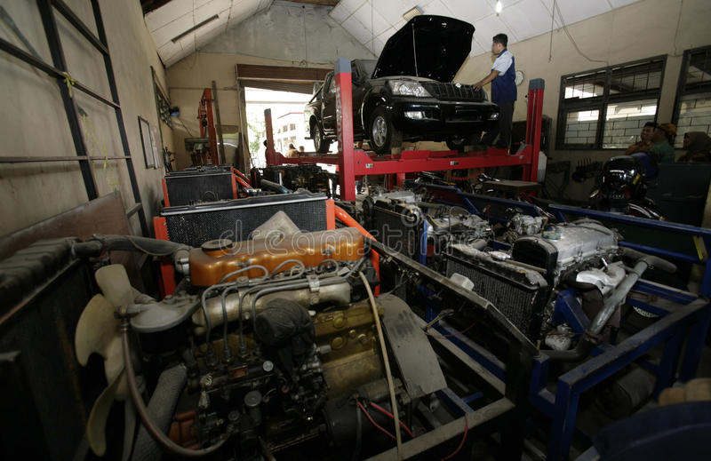 INDONESIAN ESEMKA AUTOMOBILE TO START MASS PRODUCTION stock images