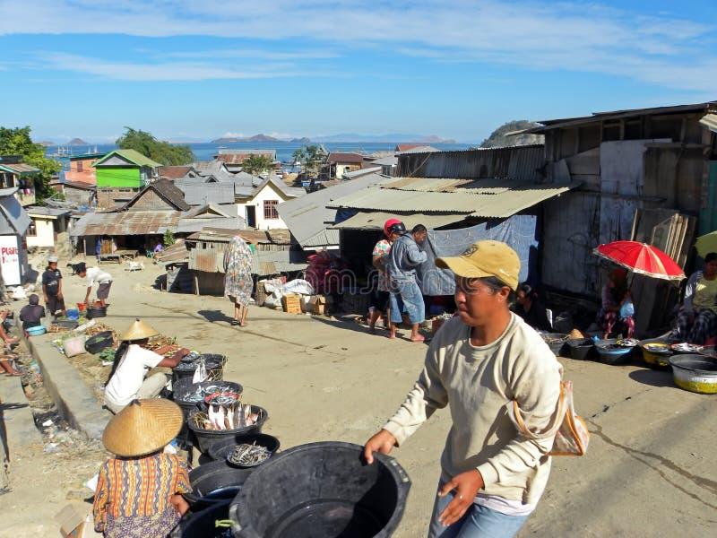 Indonesian Fish Sellers