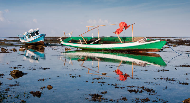 Download Indonesian Fishing Boats stock photo. Image of resort - 27467048