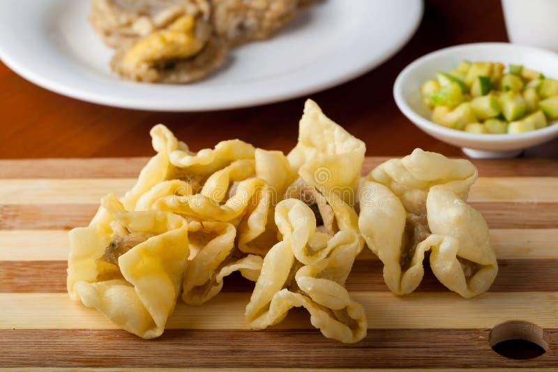 Indonesian Food Batagor Pangsit royalty free stock image