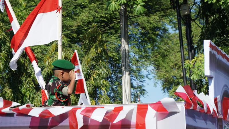 Indonesian independence day royalty free stock photos