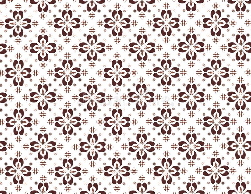 Indonesian native pattern stock illustration