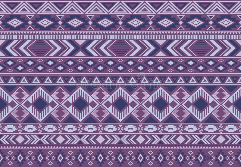 Indonesian pattern tribal ethnic motifs geometric seamless vector background. royalty free illustration