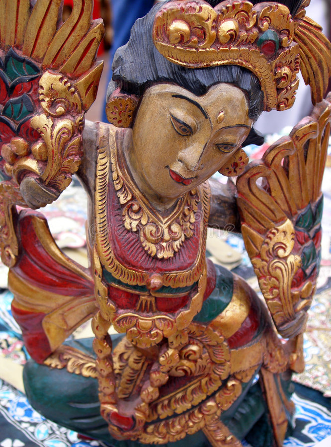 Free Indonesian Sculpture Royalty Free Stock Image - 5875046