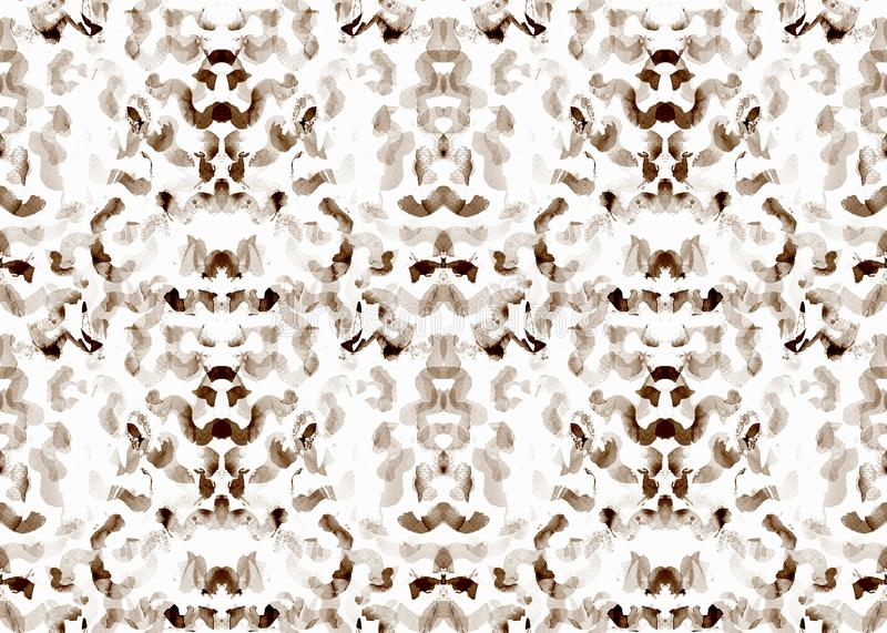 Indonesian seamless pattern. royalty free illustration