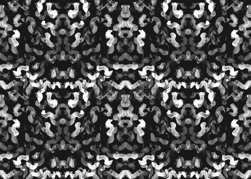Indonesian seamless pattern. stock illustration