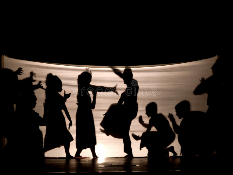 Download Indonesian Shadow play stock photo. Image of storytelling - 4223898
