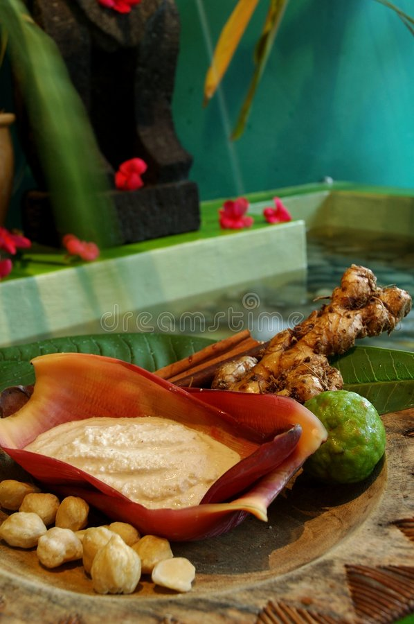 Free Indonesian Spa Royalty Free Stock Photography - 456207