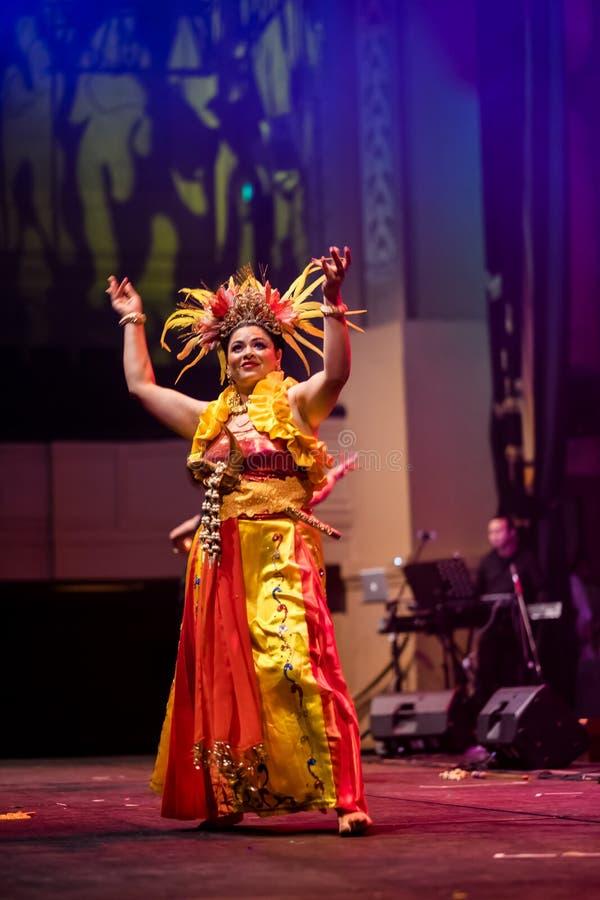 Indonesian Tradisional Dance stock photography