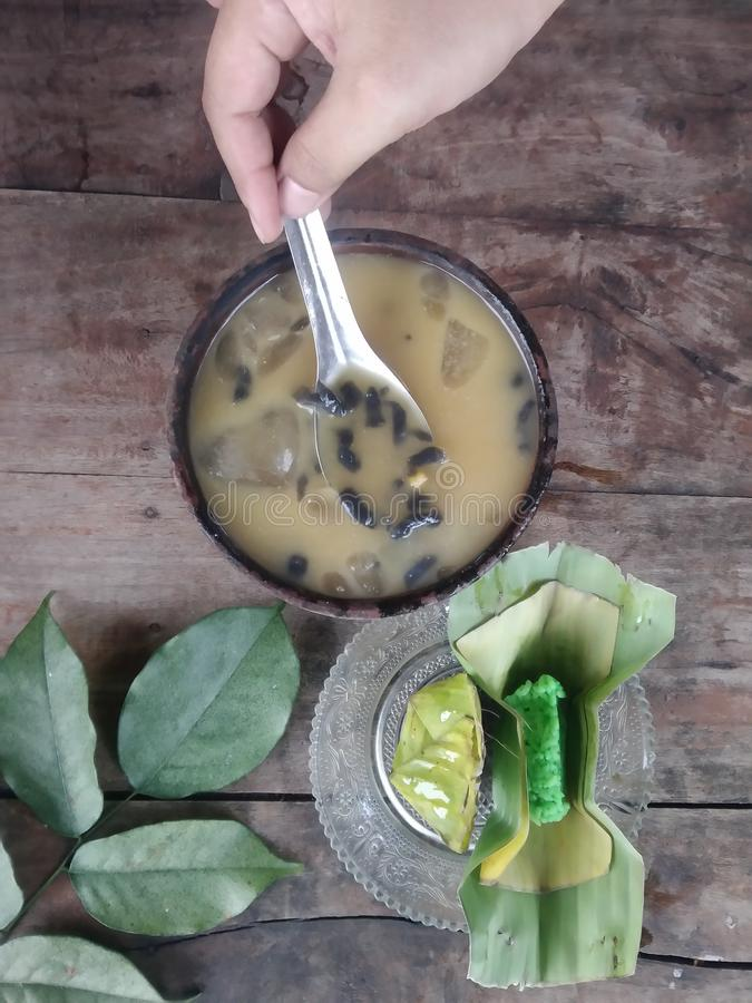 indonesian traditional drink stock photos