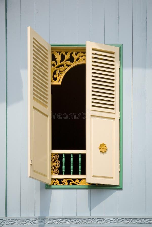 Indonesian window stock image