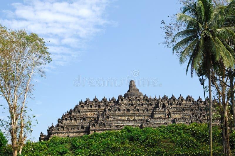 Indonesien, Java, Borobudur: Tempel lizenzfreie stockbilder
