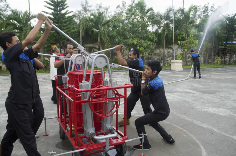 INDONESIEN KOMPETENT ARBETSKRAFTBRIST royaltyfria foton