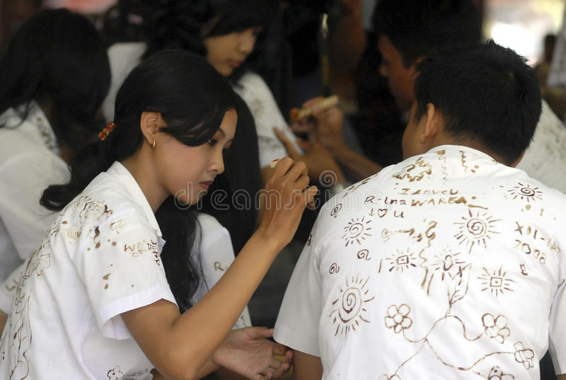 INDONESIEN LÅGT KOMPETENT KANDIDAT royaltyfria bilder