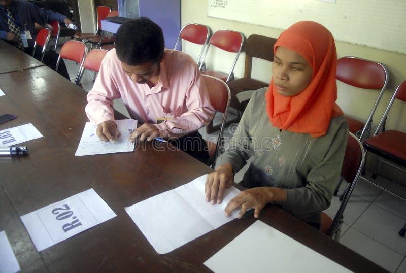 INDONESIEN LÅGT KOMPETENT KANDIDAT royaltyfri fotografi