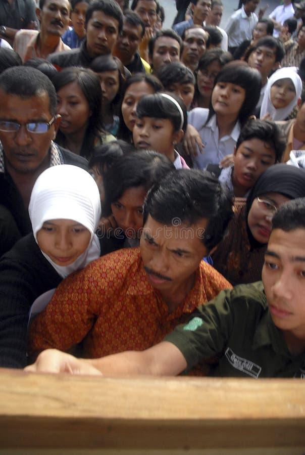 INDONESIEN LÅGT KOMPETENT KANDIDAT arkivfoto