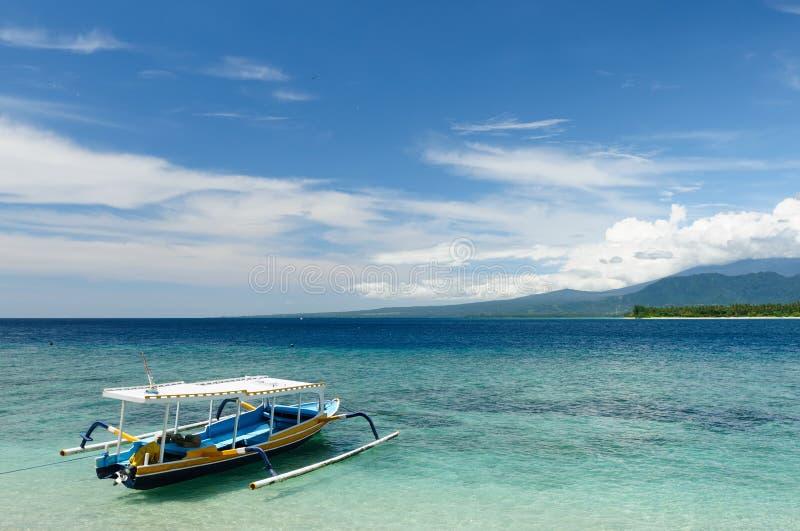 Indonesien, Lombok. Gili Inseln stockfotografie